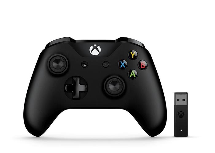 Microsoft Xbox One S Wireless Controller + Adapter