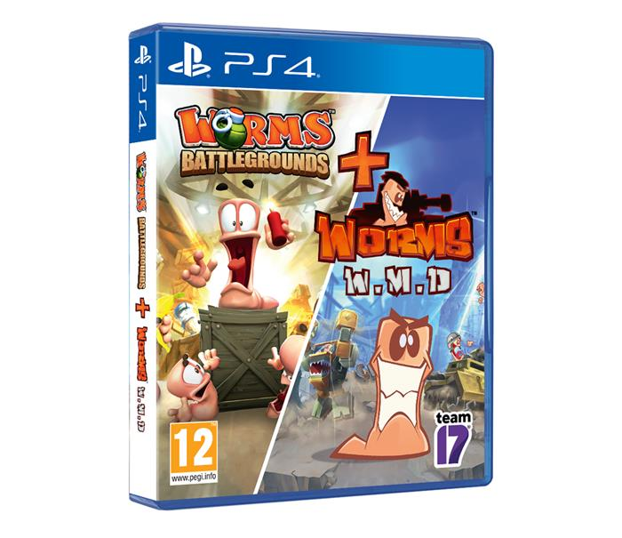 PlayStation Worms Battlegrounds + Worms W.M.D.