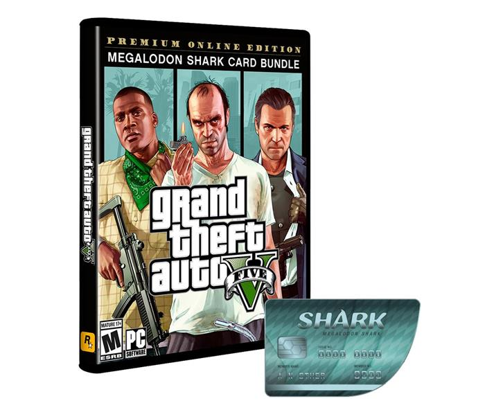 PC GTA V Premium Online Edition&Megalodon Shark